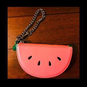 🌼Coach Watermelon Slice Large Pouch